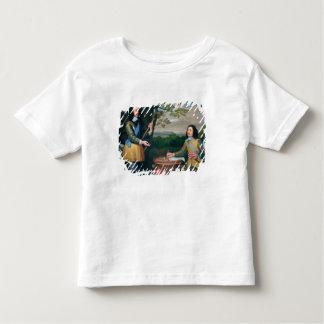 Portrait de Charles I et monsieur Edouard Walker T-shirt Pour Les Tous Petits
