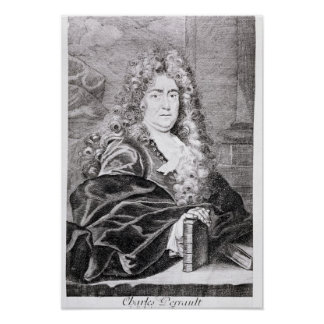 Portrait de Charles Perrault Posters