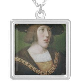 Portrait de Charles V 1516 Pendentif Carré