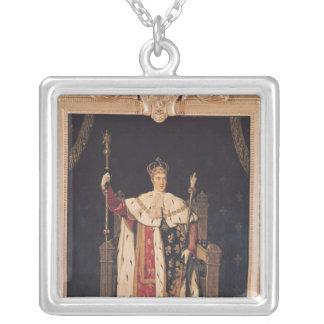 Portrait de Charles X dans des robes longues de co Pendentif Carré