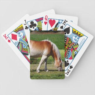 Portrait de cheval cartes à jouer