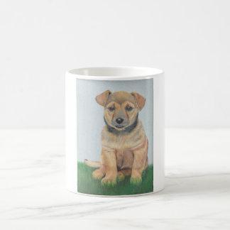 Portrait de chien mug magic
