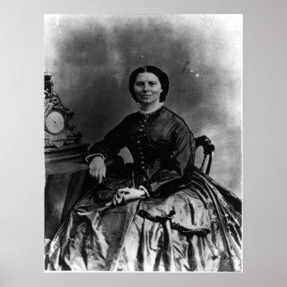 Portrait de Clara Barton Poster