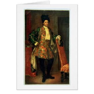 Portrait de compte Giovanni Battista Vailetti Cartes