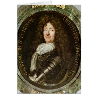 Portrait de compte Roger Bussy de Rabutin Carte De Vœux