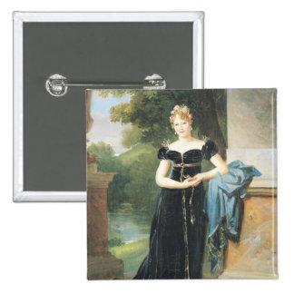 Portrait de comtesse Walewska de Marie Laczinska Badges
