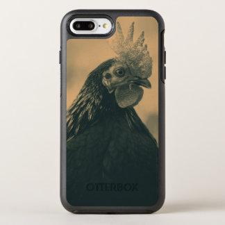 Portrait de coq coque otterbox symmetry pour iPhone 7 plus
