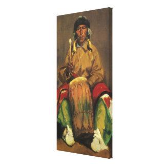 Portrait de Dieguito Roybal par Robert Henri Toile Tendue