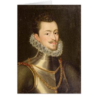 Portrait de Don John de l'Autriche Cartes