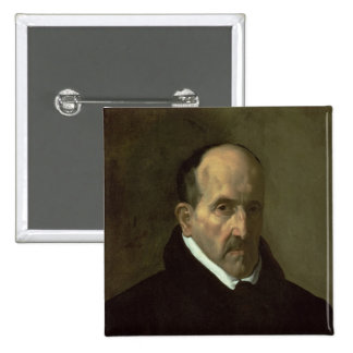 Portrait de Don Luis de Gongora y Argote 1622 Badge