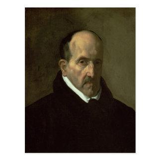 Portrait de Don Luis de Gongora y Argote 1622 Carte Postale
