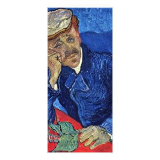 Portrait de Dr. Gachet By Vincent van Gogh Modèle De Carte Double