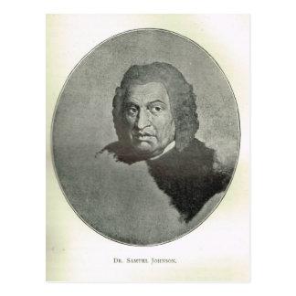 Portrait de Dr. Samuel Johnson Cartes Postales