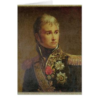Portrait de duc de Jean Lannes de Montebello Carte De Vœux