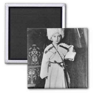 Portrait de duc grand Nicholas Mikhailovich Magnet Carré
