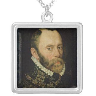 Portrait de Filips van Montmorency Pendentif Carré