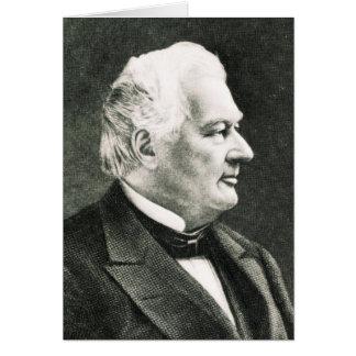 Portrait de Fillmore Millard Carte De Vœux