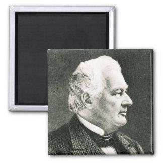 Portrait de Fillmore Millard Magnet Carré