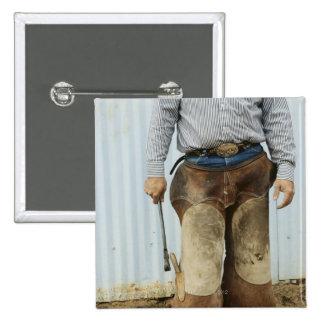 Portrait de forgeron de cowboy badge