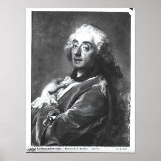 Portrait de Francois Boucher 1741 Posters