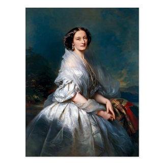 Portrait de Franz Winterhalter- d'Eliza Franciszka Cartes Postales