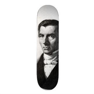 Portrait de Frederic libéral classique Bastiat Skateboards Cutomisables