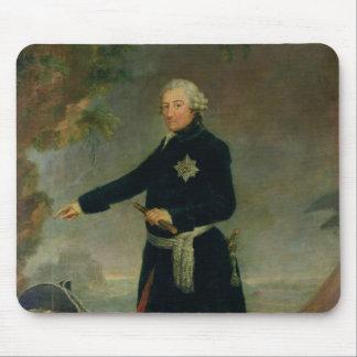 Portrait de Frederick II le grand, 1772 Tapis De Souris
