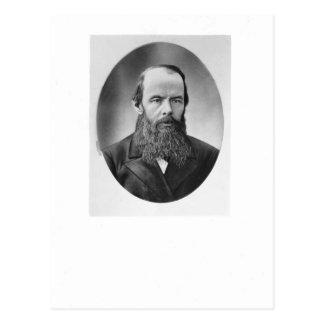 Portrait de Fyodor Mikhailovich Dostoyevsky Cartes Postales