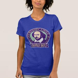 Portrait de garçon de barde de William Shakespeare T-shirt
