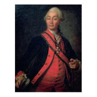Portrait de général de grade supérieur de maréchal carte postale