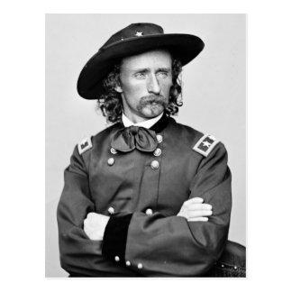 Portrait de George Armstrong Custer Carte Postale