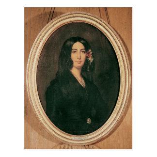 Portrait de George Sand Carte Postale