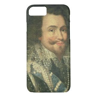 Portrait de George Villiers, ęr duc de Buckingha Coque iPhone 7