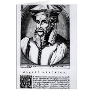 Portrait de Gerard Mercator Cartes