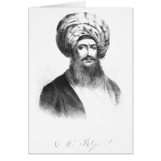 Portrait de Giovanni Battista Belzoni Carte De Vœux
