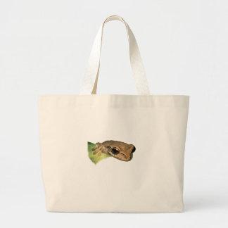 Portrait de grenouille sac
