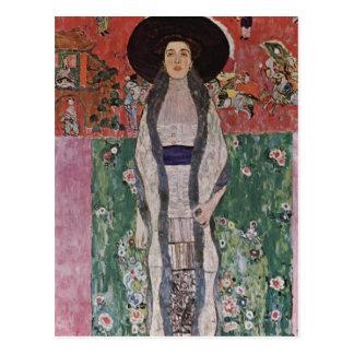 Portrait de Gustav Klimt d'Adele Bloch-Bauer II Carte Postale