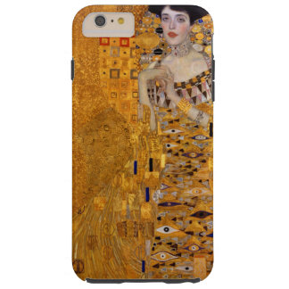 Portrait de Gustav Klimt de cru d'Adele GalleryHD Coque Tough iPhone 6 Plus