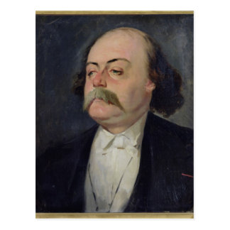 Portrait de Gustave Flaubert 1868-81 Carte Postale