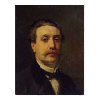 Portrait de Guy de Maupassant 1876 Cartes Postales