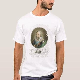 Portrait de Henri IV, roi de la France et de la T-shirt
