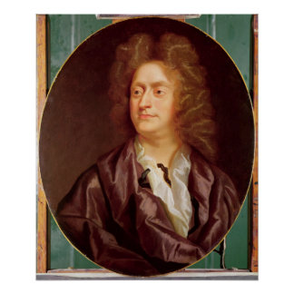 Portrait de Henry Purcell, 1695 Posters