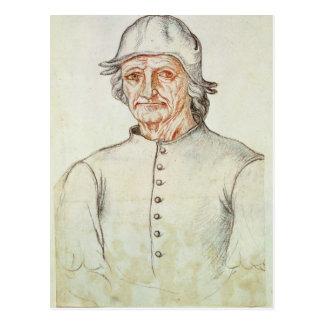 Portrait de Hieronymus Bosch Cartes Postales