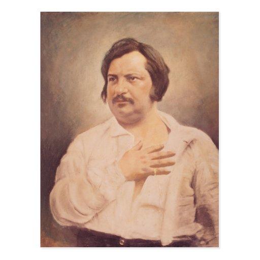 Portrait de Honore de Balzac Cartes Postales