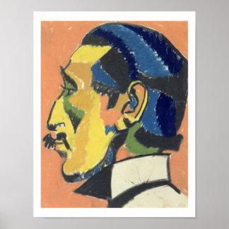 Portrait de Horace Brodsky (1885-1969) (en pastel  Posters