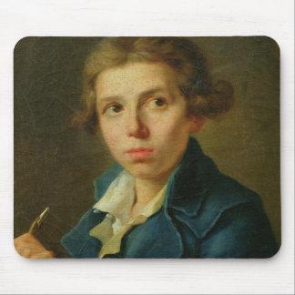 Portrait de Jacques-Louis David comme jeunesse Tapis De Souris
