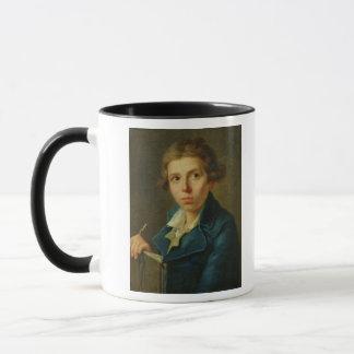 Portrait de Jacques-Louis David comme jeunesse Tasse