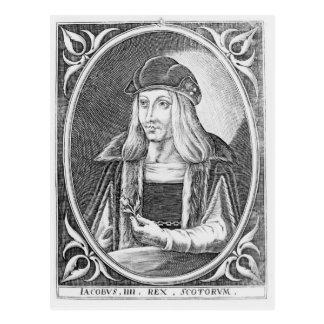 Portrait de James IV de l'Ecosse Carte Postale