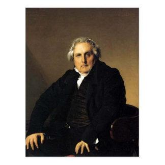 Portrait de Jean Ingres- de journaliste français Carte Postale