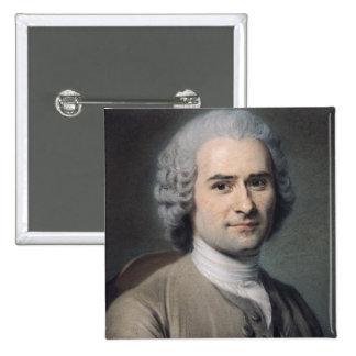 Portrait de Jean-jacques Rousseau Badges